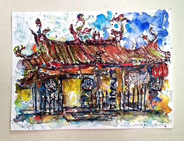 My impression of Thian Hock Keng Temple