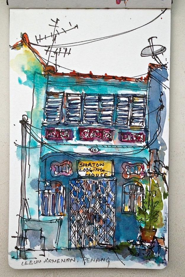 Shophouse on Armenian Street