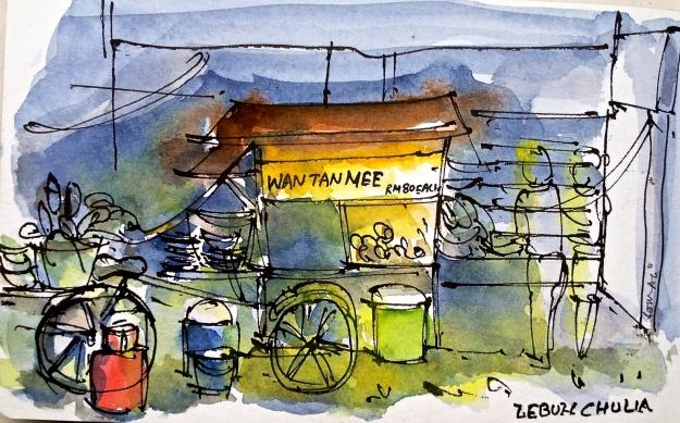 Stall on Lebuh Chulia