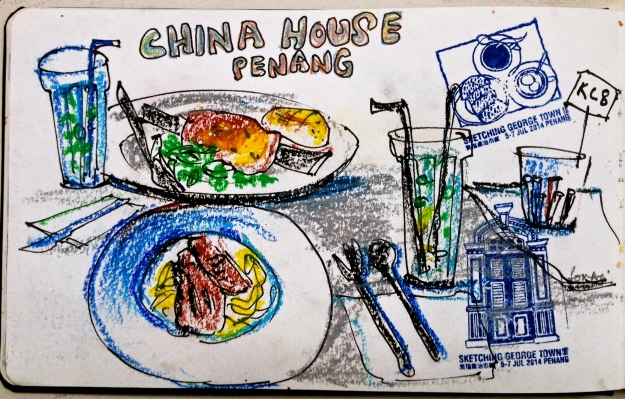 Dinner at China House