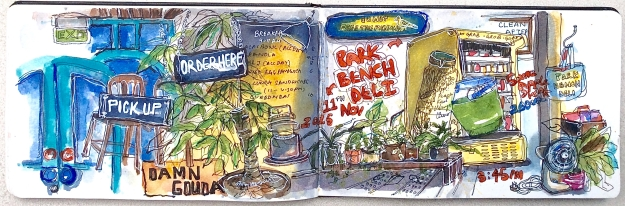 Park Bench Deli on Telok Ayer Street