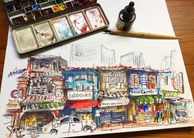 arab-street-shophouses