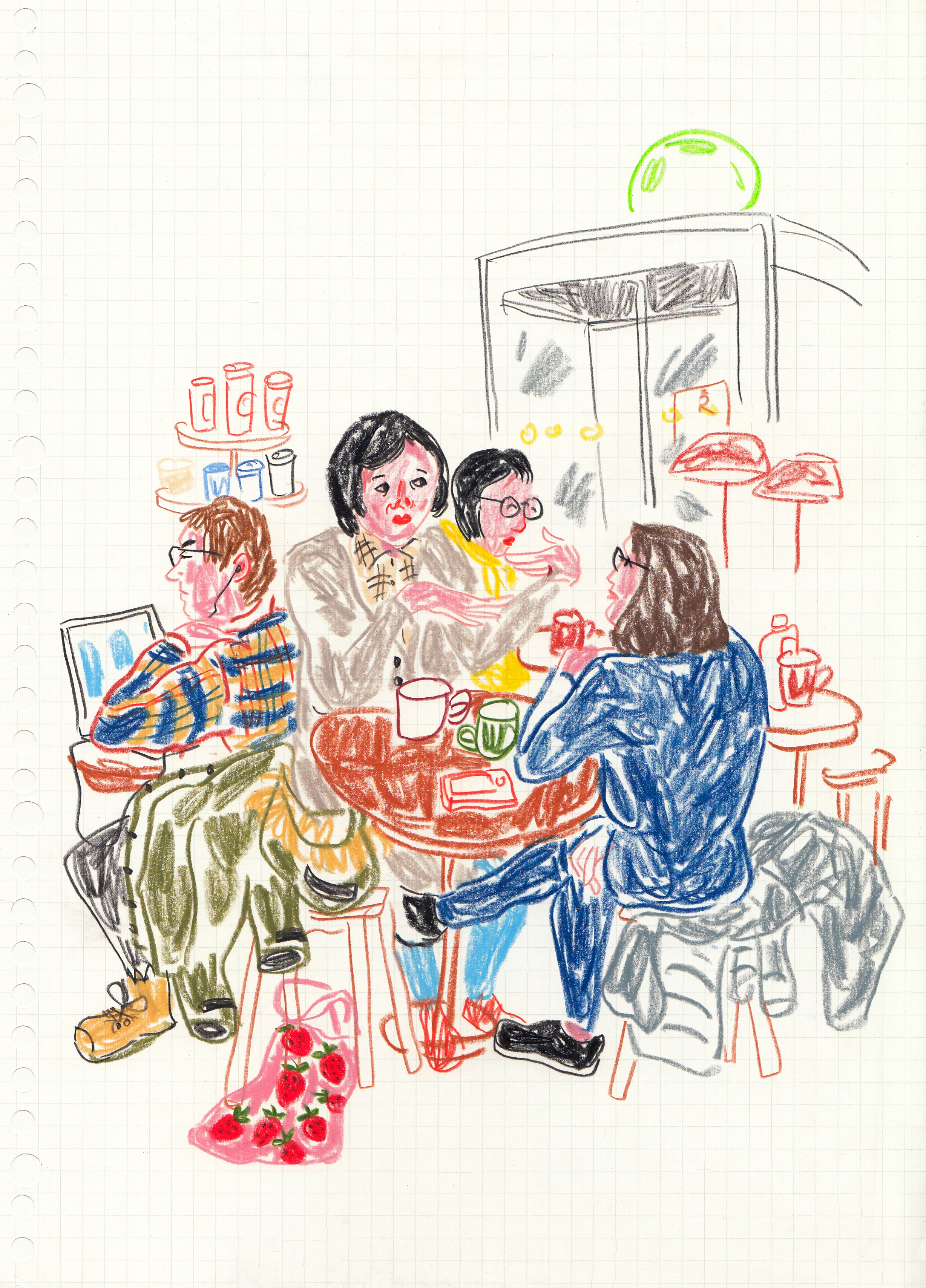 Starbucks sketch
