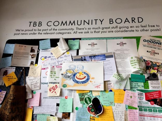 TBB community board